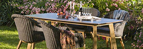 Loungemöbel Set für den Garten