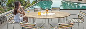 Gartenstühle Set aus Metall