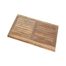 Stern Old Teak Tischplatte 90x90 cm