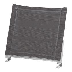 ZEBRA Rückenlehne Linax aus Batyline® argenta