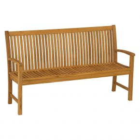 Stern Bank Malaga 2-Sitzer, Sitzbreite 120 cm, Teak FSC®-zertifiziert