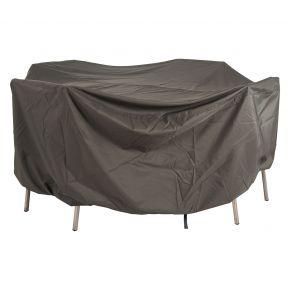 Stern Schutzhülle für Sitzgruppe rechteckig 200x150x90 cm, uni grau mit Bindebändern und Klettverschluss