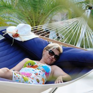 Luxus Familien-Stabhängematte gepolstert American-Hammock-Lifestyle Ocean Outdoor