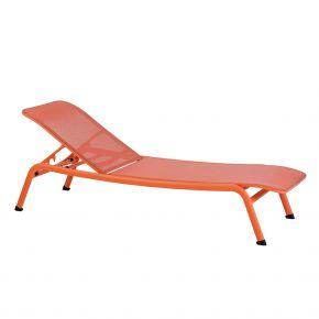 Diamond Garden Kingston Liege Aluminium/Textiline – neon orange