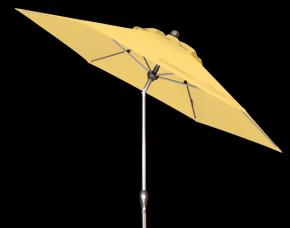 Doppler Kurbelschirm Sunline IV 320, ca. 320/6tlg. D. 811 gelb