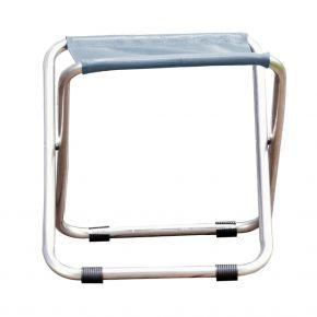 Jan Kurtz Hocker CHICO, Gestell: Aluminium, Bezug: Kunststoffgewebe meerblau, EV