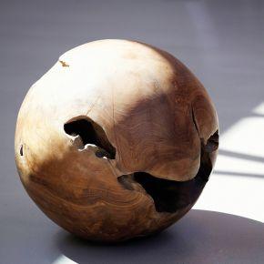 Jan Kurtz Teak BALL, Unikat, ca. Ø 40 cm