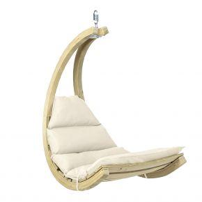 Amazonas Schwebestuhl gepolstert Swing Chair creme
