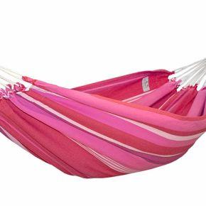 Lola Hängematte Kolumbiana Fantasy bordeaux-pink-weiß