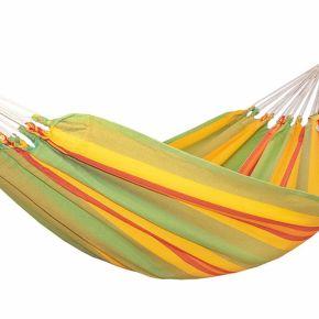 Einzel-Hängematte Kolumbiana Kiwi Baumwolle