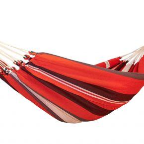 Einzel-Hängematte Kolumbiana red-black-white Baumwolle