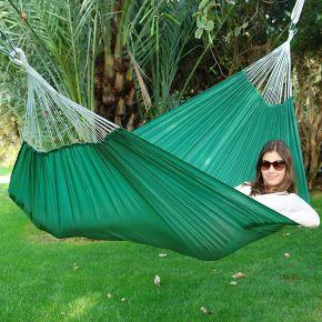 Lola Reise Hängematte-Travelset grün