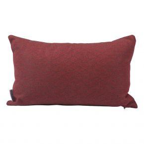 Stern Dekokissen ca. 35x55 cm, 100% Polyacryl, Design Raute rot