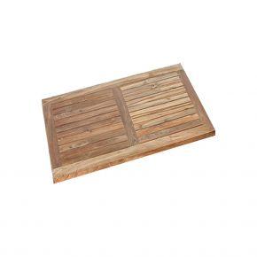Stern Old Teak Tischplatte 80x80 cm