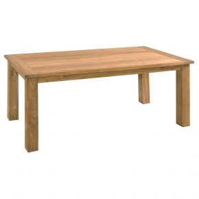 ZEBRA Tisch Oskar aus recyceltem Teakholz 180x90