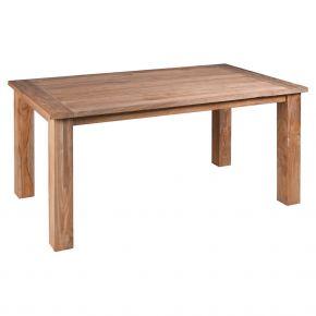Zebra Tisch Oskar aus recyceltem Teakholz 160x90x77