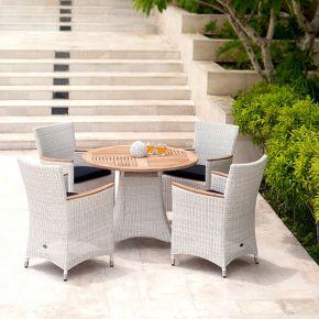Zebra Loomus Set weiß mit dem Tisch