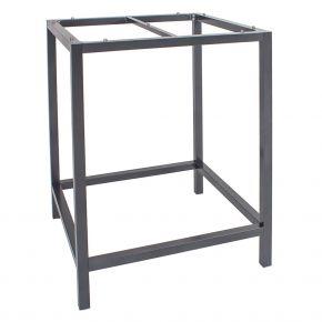 Stern Aluminium graphit Stehtischgestell 80x80x111 cm, Vierkantrohr