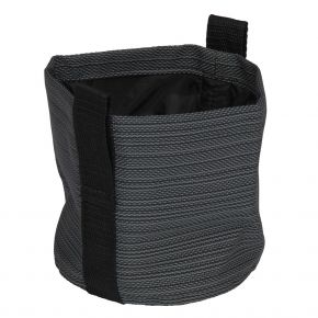 Stern Textilen Übertopf Ø 15x15 Textilen karbon