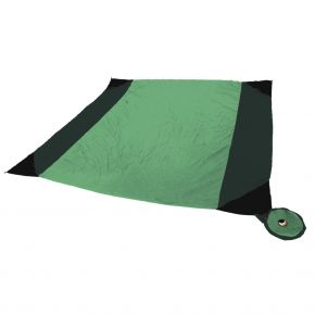 Ticket to the Moon BEACH BLANKET emerald/grün