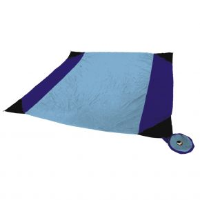 Ticket to the Moon BEACH BLANKET türkis/royal blau