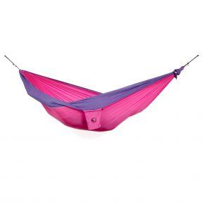 Ticket to the Moon MAMMOCK Reisehängematte in pink/violett (mit Aufhängeset und Regenschutz)