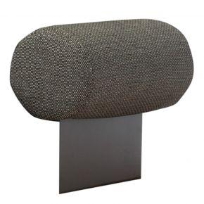 Zebra Park Lounge Armlehne mit Kissen Aluminium graphite und Sunproof Fontelina