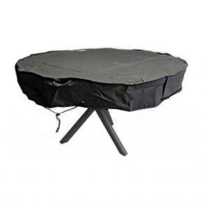 Zebra Schutzhülle Tische bis 160 cm rund, Farbe grey