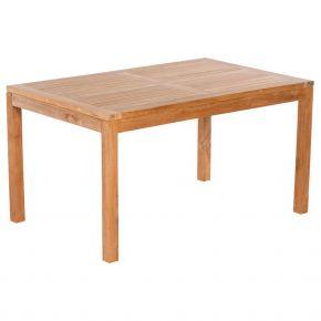 Zebra Tisch BALI aus Teakholz 150x90cm